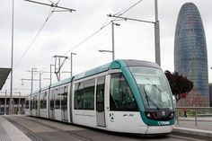With a near-equal split between the two systems, the entire Barcelona fleet is composed of Alstom Citadis 302 trams: Glòries. - Image - Railway Technology