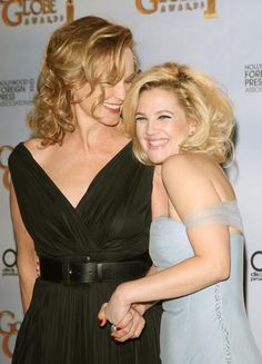Jessica Lange and Drew Barrymore