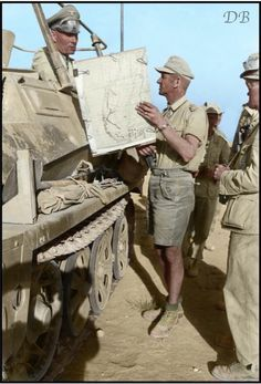 Rommel in Greif North Africa, pin by Paolo Marzioli
