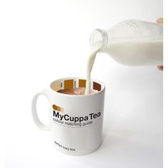 My Cuppa Tea Mug by Suck UK. Color-matching mug ;)