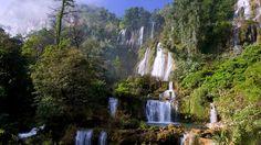 Photo about Waterfall Thi Lo Su The waterfall is very beautiful. Multi-storey waterfall occurs very. Image of thailand, waterfall, multi - 15402124 Art Sketches, Thailand, Waterfall, Stock Photos, Travel, Outdoor, Image, Beautiful, Asia