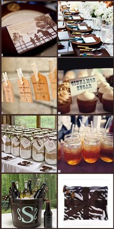 Rustic Outdoor Wedding | Rustic Summer Wedding - All Things For All Parties