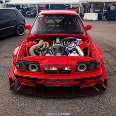 BMW E34 M5 Time Attack