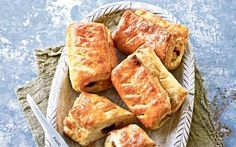 Paul Hollywood, the chef and judge of 'The Great British Bake-Off,   shares his recipe for Danish pastries packed with sultanas.