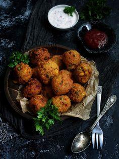 Сладко и Солено: Зеленчукови кюфтенца с нахут