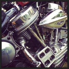 ouan1948:  #panhead #chopper #cyclechopper #harley #motorcycle.... Harley HarleyDavidson Panhead Kickstart Details