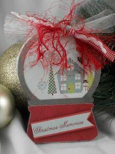 CraftDee1: Teacher Christmas Gifts using Micro mini Snow globe