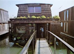 houseboat yes but I need to have neighbors because I value the sense of community!