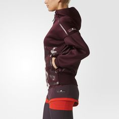 Schwarzer Lauf Longsleeve Hoodie Adidas By Stella Mccartney