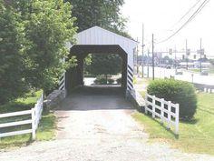 Covered bridge in Intercourse PA