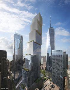 Galeria - BIG substitui Foster no projeto para o 2 World Trade Center - 9