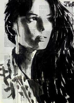 "Saatchi Art Artist Loui Jover; Drawing, ""elm"" #art"