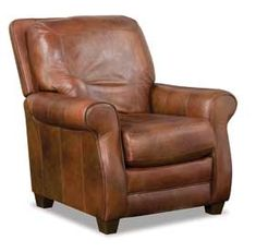 Bowden Leather Recliner from American Furniture Warehouse $749