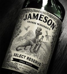 30 Unique Packaging and Label Designs for Whisky Bottles Whisky Bar, Cigars And Whiskey, Scotch Whiskey, Whiskey Bottle, Best Rye Whiskey, Jameson Irish Whiskey, Irish Drinks, Red Wine Glasses, Gula