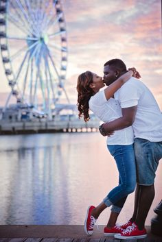 She will always remember the day he proposed to her at National Harbor Maryland. Washington DC Engagement Session National Harbor Maryland Engagement Session Sri Lanka Bride Jamaica Groom International Engagement