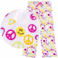 Plush pajama pants ROCK!