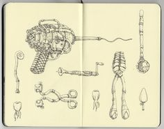 Sketchbook 23 by Mattias Adolfsson, via Behance