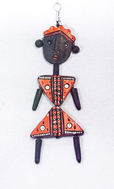 Terracotta Female Wall Hanging from Lal10.com