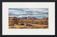 """""""Soft Sky Mountains"""" by Beautifully Scene Images, Grafton // Mountains along the drive to Goblin Valley State Park, Utah. // Imagekind.com -- Buy stunning fine art prints, framed prints and canvas prints directly from independent working artists and photographers."""