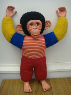 I can't remember who had Jacko Lucy. All I know is that he scared me!