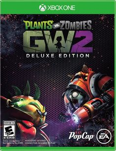 The Deluxe Edition Includes  Plant class custom accessories pack – full customization set for a plant class character. Zombie class custom accessories pack – full customization set for a zombie class character. Mystery character variant pack – guaranteed plant or zombie character variant unlock. PvZ Coins starter pack – instant chest of in-game PvZ Coins.  The battle for suburbia grows to crazy new heights in Plants vs. Zombies™ Garden Warfare 2! In this hilarious, action-packed shooter…