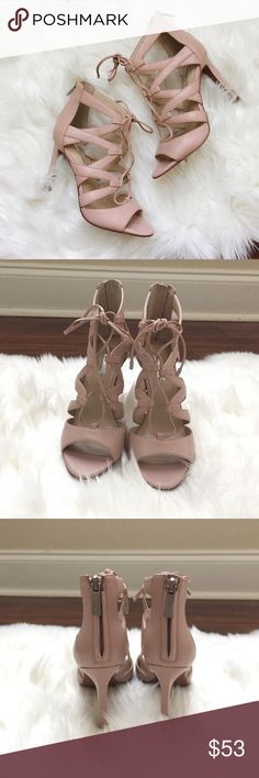"""BCBGeneration Carmeena Pump BCBGeneration Carmeena Pump. Size 6 (I'm normally a 6.5 so these run a little big). Color is """"Bare Pink"""". Never worn before. Does not come w/ box (New w/o Box). BCBGeneration Shoes"""