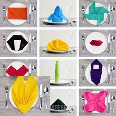 12 Fancy Ways to Fold Table Napkins:, Diy Abschnitt, Diy Crafts Hacks, Diy Home Crafts, Diy Crafts Videos, Diy Crafts To Sell, Diy Projects Videos, Napkin Folding Video, Paper Napkin Folding, Folding Napkins, How To Fold Napkins