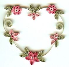 Quilled Mother's Day Craft Projects and Ideas _10