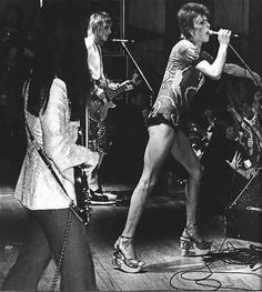 david bowie ziggy stardust black and white - Google Search