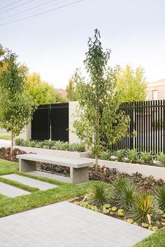 Outdoor landscaping, front yard landscaping, landscaping melbourne, front y Modern Landscape Design, Traditional Landscape, Landscape Plans, Garden Landscape Design, Modern Landscaping, Contemporary Landscape, Outdoor Landscaping, Front Yard Landscaping, Landscaping Ideas