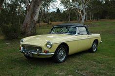 My first car - 1970 MGB