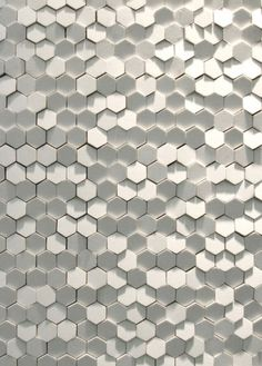 WHITE / Phenomenon: Tokujin Yoshioka\\\\\\\'s Tile System for Mutina - Core77