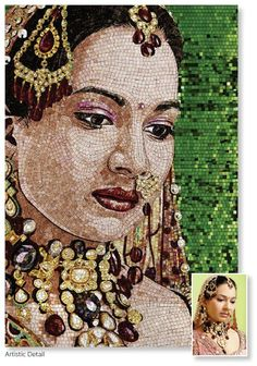 SICIS #Mosaics #Art#Portraits