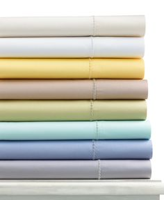 Martha Stewart Collection 300-Thread Count Cotton Sateen Sheets (Only at Macy's) - Martha Stewart Collection - Bed & Bath - Macy's