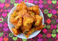 Julie & Kittee: Recipe: Vegan, Gluten-Free Baked Buffalo Cauliflower Recipe!