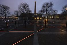 Ice Square Swansea - Studio Fink - Lighting, LED, Inground, Plaza, Lines