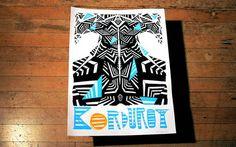Twin Peaks Poster - Korduroy x Jeremy Rumas $30