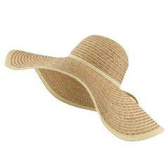 Floppy sun hats...