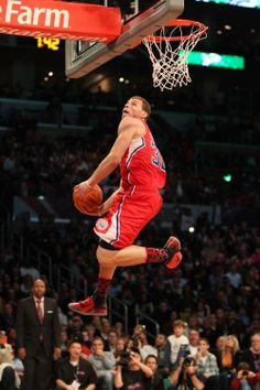L.A. Clipper, Blake Griffin!....this is that dude!