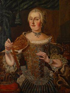 Maria Theresia Habsburg von Österreich, Kaiserin des Heiligen