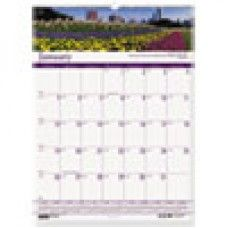 Desk Supplies>Desk Set / Conference Room Set>Holders> Calendar Holders: Gardens of the World Monthly Wall Calendar, 15-1/2 x 22, 2016