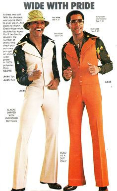 fashion trends names, Jumpsuit fashion. 70s Black Fashion, Funky Fashion, 1960s Fashion, Vintage Fashion, Mens Fashion, Fashion Guide, Grunge Fashion, Mode Masculine, Soul Train Fashion