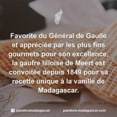 Cédez à la gourmandise #VanilleDeMadagascar https://www.meert.fr/