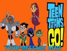 Teen Titans Edible Cake Topper All Sizes  the by ToppersByDesign, $6.95