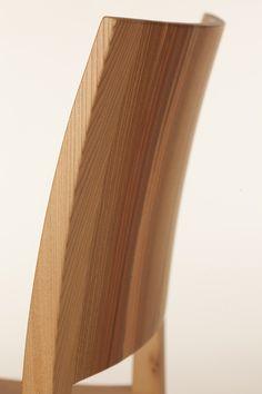 Wittmann Esszimmer Lehne von Sessel EGON - handwerklich perfekt geformt und verarbeitet. Unser Herz schlägt fürs Holz! Detail, Home Decor, Chairs, Pipes, Contemporary Design, Lunch Room, Heart, Eten, Homemade Home Decor