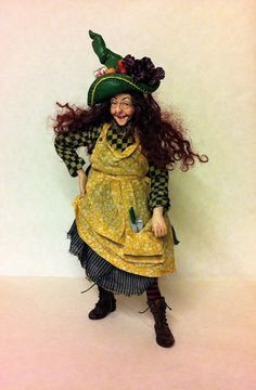 D/house Miniature Rare MARCIA BACKSTROM Witch 1/12th - Resell OOAK | eBay