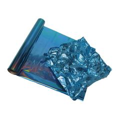 Holo Teal Blue Metallic Color Foil