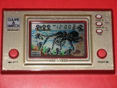 Nintendo Game & Watch, el pulpo, nada fácil !