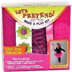 Let's Pretend Tutu Kit-Pink - ValuCrafts.com