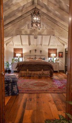 Bedroom, Rustic Style